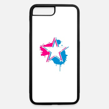 Star Graffiti 3D graffiti star design - iPhone 7 & 8 Plus Case