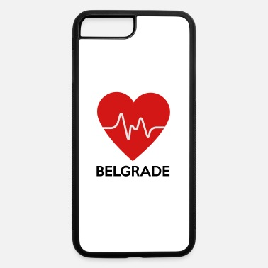 Belgrade Heart Belgrade - iPhone 7 & 8 Plus Case
