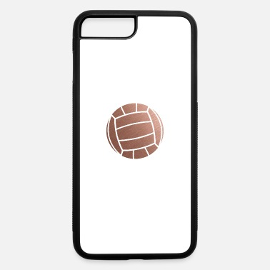 Volleyball Setter Rose Gold Volleyball Setter - iPhone 7 & 8 Plus Case