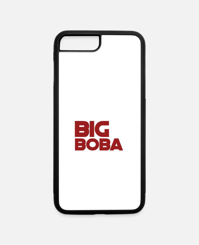 I Love It When iPhone Cases - Big Boba - iPhone 7 & 8 Plus Case white/black