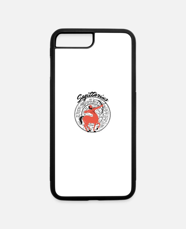 Zodiac iPhone Cases - Sagittarius - iPhone 7 & 8 Plus Case white/black