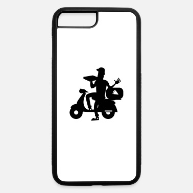 Pizza Pizza delivery boy, funny scooter gift idea - iPhone 7 & 8 Plus Case