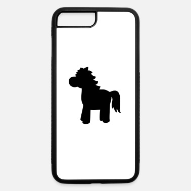 Filly horse pony unicorn toy animal foal filly gift - iPhone 7 & 8 Plus Case