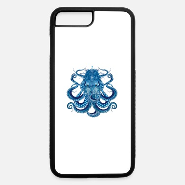 Ornament Octopus with corals, shells and sea anemones - iPhone 7 & 8 Plus Case
