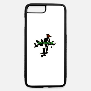 Renaissance renaissance bird BLACK logo 4 - iPhone 7 & 8 Plus Case