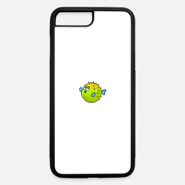 Fukushima Blowfish 2 (Dk Ground) - iPhone 7 & 8 Plus Case