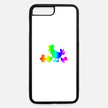 Poultry Rainbow Poultry - iPhone 7 & 8 Plus Case