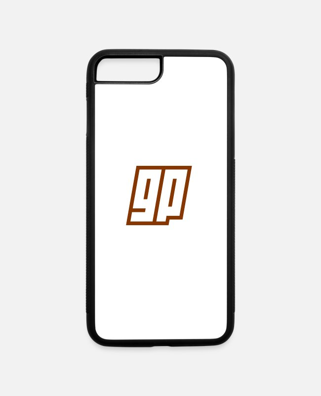 Ginger Power iPhone Cases - cases - iPhone 7 & 8 Plus Case white/black