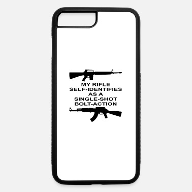 Bolt-action Rifles My Rifle Self Identifies As A Single Shot Bolt Act - iPhone 7 & 8 Plus Case