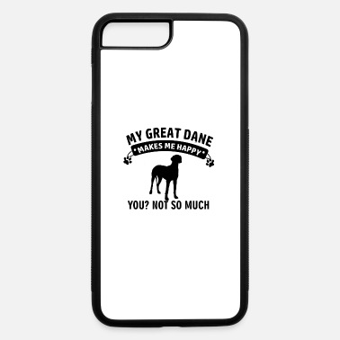 Great Funny Great Dane Designs - iPhone 7 & 8 Plus Case