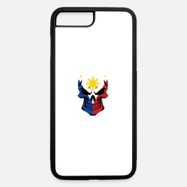 Skull Filipino Flag Filipino Flag Skull - iPhone 7 & 8 Plus Case