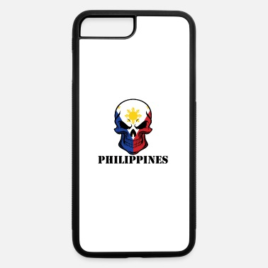 Filipino Flag Filipino Flag Skull Philippines - iPhone 7 & 8 Plus Case