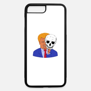 Mask Scary Trump with Halloween Skeleton Mask - iPhone 7 & 8 Plus Case