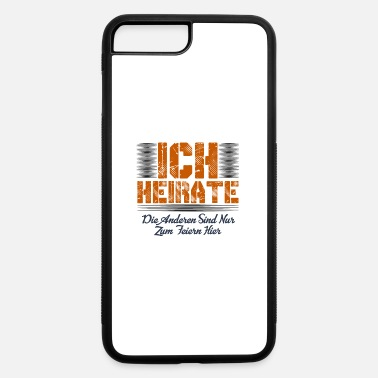 Marriage marriage - iPhone 7 Plus/8 Plus Rubber Case