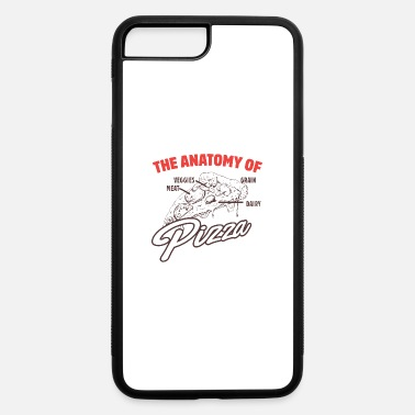 Pizza Hut The anatomy of Pizza - iPhone 7 & 8 Plus Case