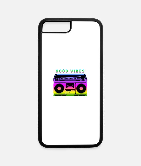 Movie iPhone Cases - Good Vibes - iPhone 7 & 8 Plus Case white/black