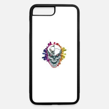 Skull City - MutiColor Design - iPhone 7 Plus/8 Plus Rubber Case