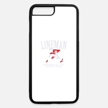 Offensive American Football Lineman Brick Wall Shirt & Gift - iPhone 7 & 8 Plus Case