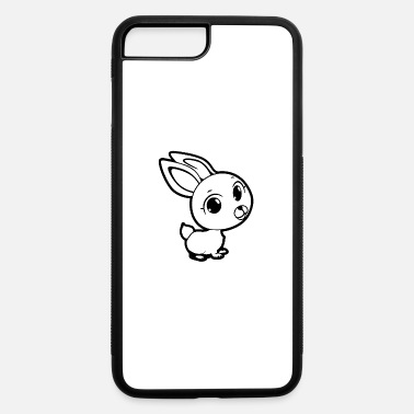 Cute Animals Cute rabbit animal - iPhone 7 & 8 Plus Case