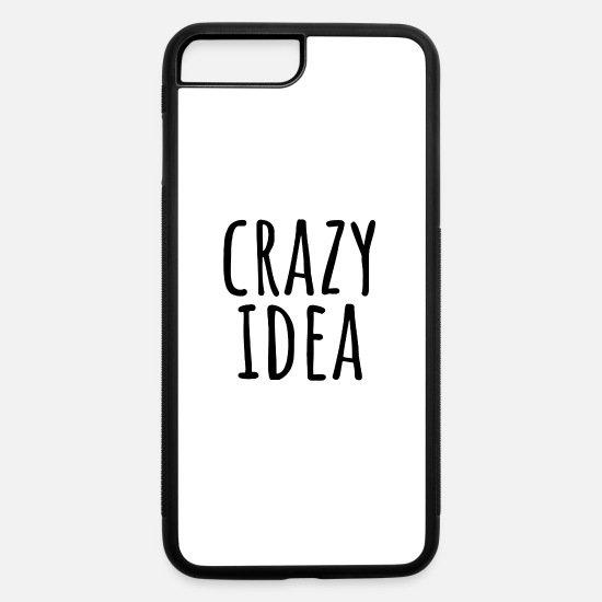 Crazy Eights iPhone Cases - Crazy idea - iPhone 7 & 8 Plus Case white/black