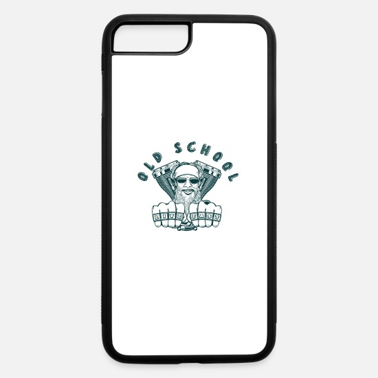 Age iPhone Cases - Old School - iPhone 7 & 8 Plus Case white/black