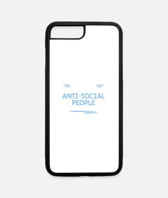 Social iPhone Cases - GROUP SOCIAL - iPhone 7 & 8 Plus Case white/black