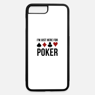 Poker Passion Poker T-Shirts Poker Cards Poker Chips Gift Ideas - iPhone 7 & 8 Plus Case