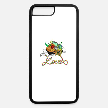 Mp3 Chameleon loves MP3 music - iPhone 7 & 8 Plus Case