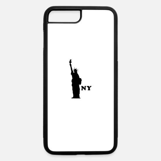 Usa iPhone Cases - NY 1 - iPhone 7 & 8 Plus Case white/black