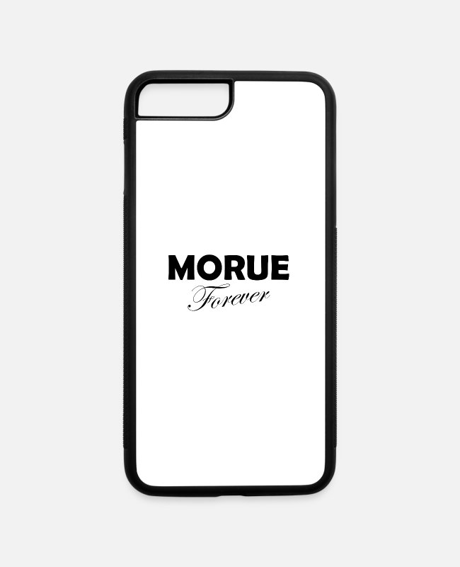 Frauenpower iPhone Cases - Morue Forever Feminists Feminism gift - iPhone 7 & 8 Plus Case white/black