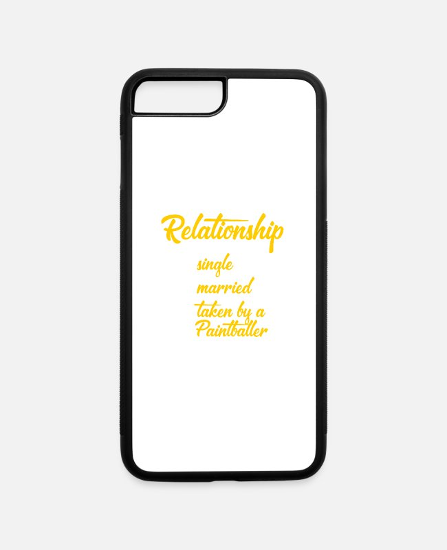 Partnership iPhone Cases - Assign relationship Paintballers - iPhone 7 & 8 Plus Case white/black