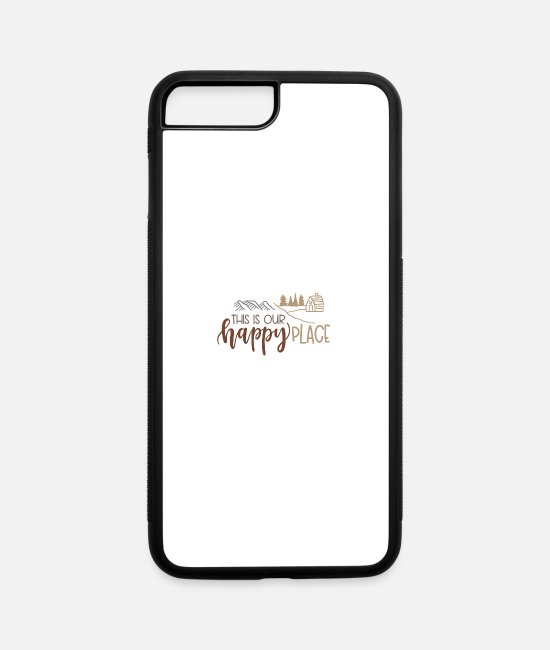 Hay iPhone Cases - This is our happy place - iPhone 7 & 8 Plus Case white/black