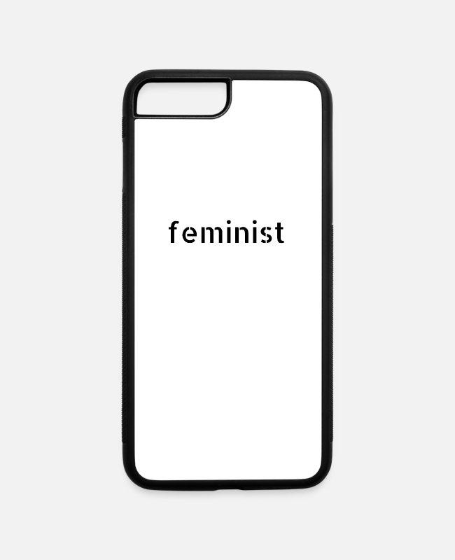Human Rights iPhone Cases - woman power black life vintage society women - iPhone 7 & 8 Plus Case white/black