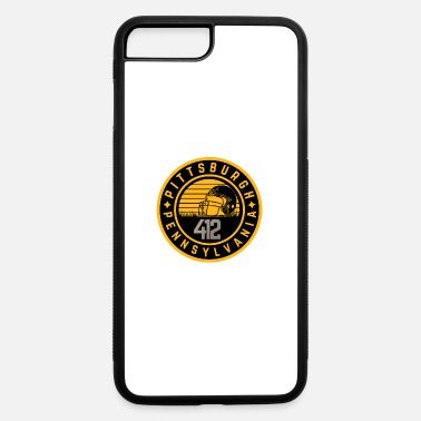 Pittsburgh Pittsburgh Football Helmet 412 Pennsylvania Fan - iPhone 7 & 8 Plus Case