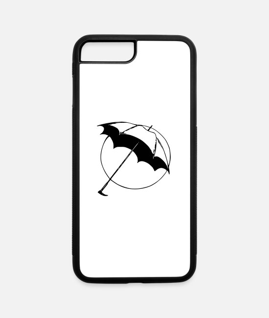 Sure iPhone Cases - Basic Open Umbrella - iPhone 7 & 8 Plus Case white/black