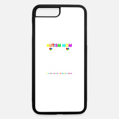 Support Autism Mom Facts One Supportive Mom Autism Awarene - iPhone 7 & 8 Plus Case
