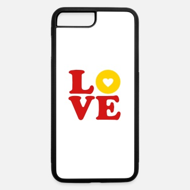 Vector Most Loved Fast Food Design Cakes Breads ♥ټLove BananaVector choc Doughnut-Heavenly Donutټ♥ - iPhone 7 & 8 Plus Case