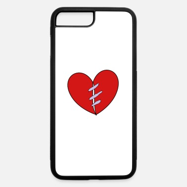 Stitches Stitched heart - iPhone 7 & 8 Plus Case