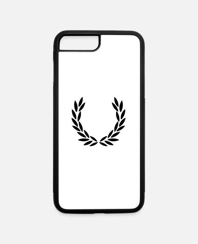 Wreath iPhone Cases - Laurel Wreath - iPhone 7 & 8 Plus Case white/black