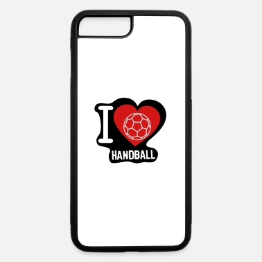 5 Ball i love ball handball heart 5 - iPhone 7 & 8 Plus Case
