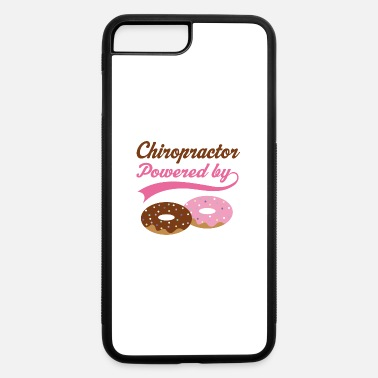 Frosted Doughnut Chiropractor Powered by Donuts Gift - iPhone 7 & 8 Plus Case