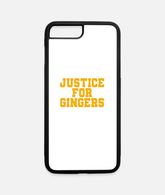 Movie iPhone Cases - Justice For Ginger - iPhone 7 & 8 Plus Case white/black