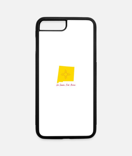 New iPhone Cases - Los Lunas New Mexico - iPhone 7 & 8 Plus Case white/black