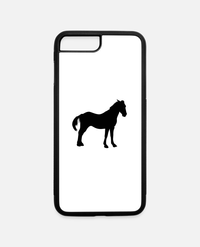 Muli iPhone Cases - Donkey - iPhone 7 & 8 Plus Case white/black