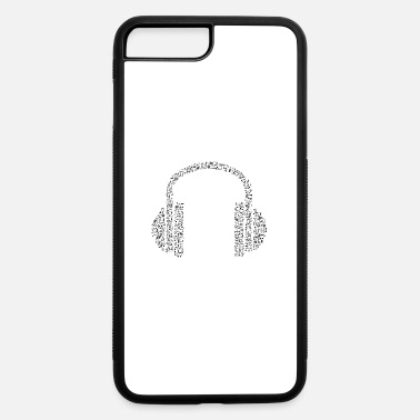 Note Clue headphone notes - iPhone 7 Plus/8 Plus Rubber Case
