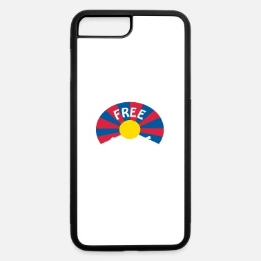 free tibet - iPhone 7 & 8 Plus Case