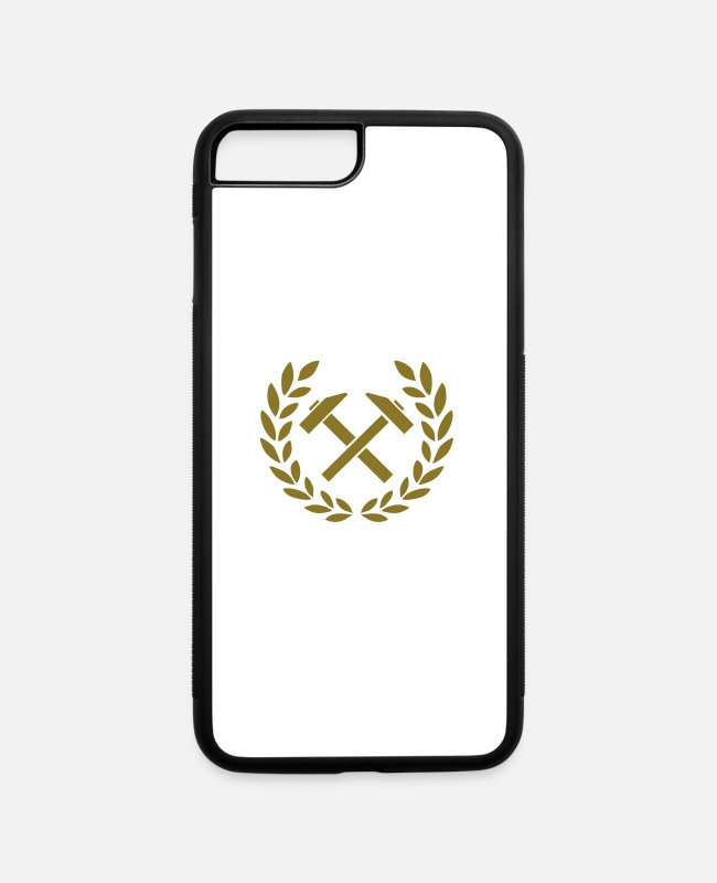 Hammer iPhone Cases - Hammer - iPhone 7 & 8 Plus Case white/black