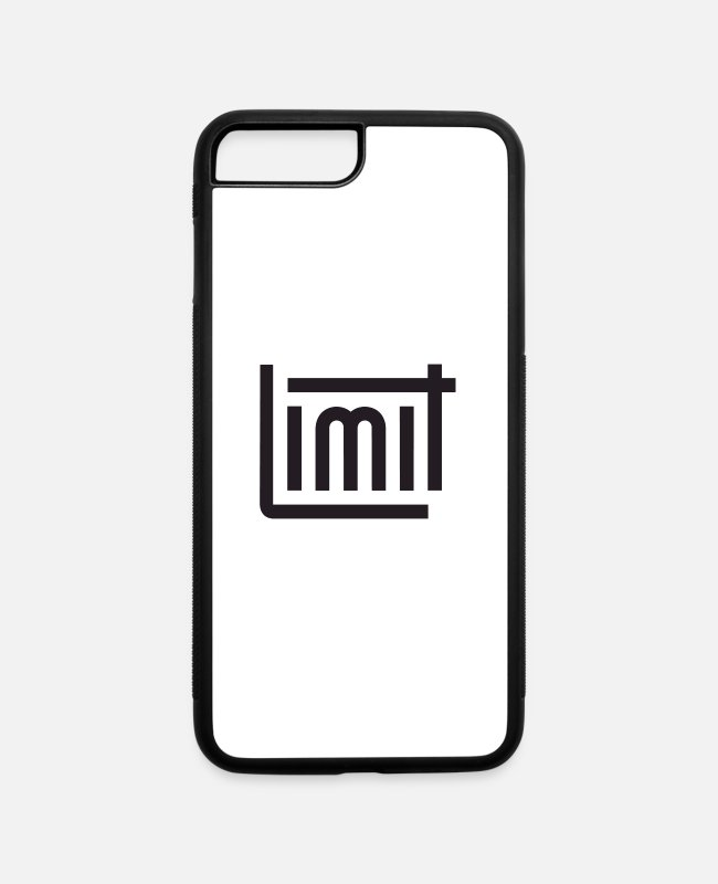 Limited Edition iPhone Cases - Limit - iPhone 7 & 8 Plus Case white/black