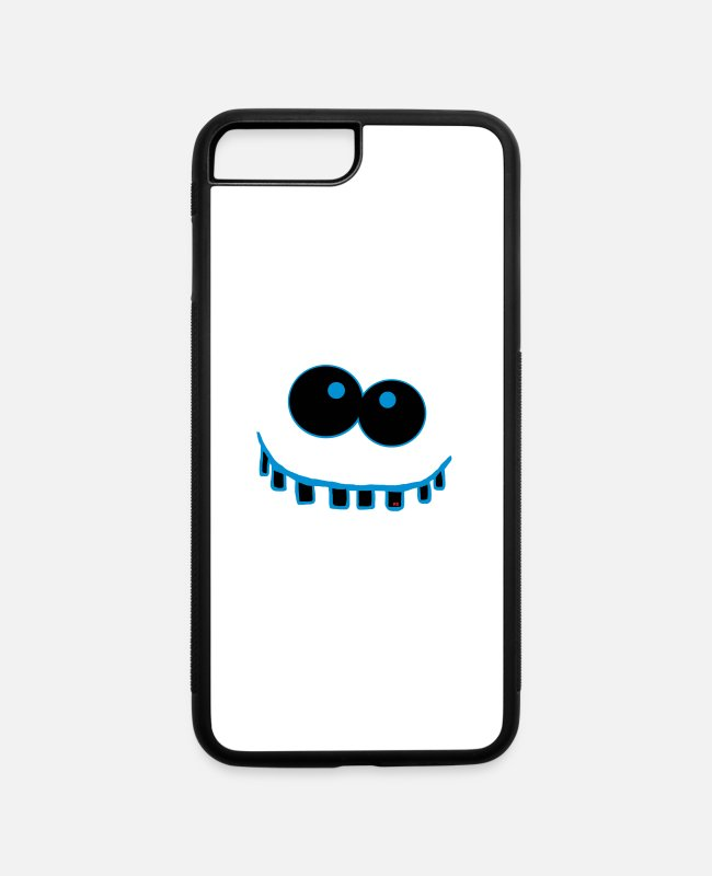 Easter iPhone Cases - Monster Funny Halloween school Kindergarten Party - iPhone 7 & 8 Plus Case white/black