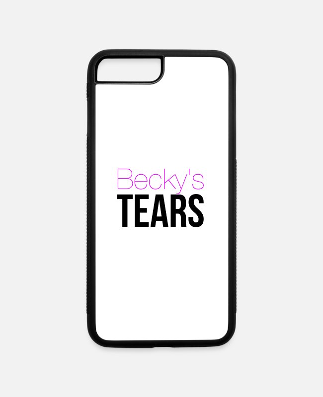 Lemonade iPhone Cases - Becky's Tears - iPhone 7 & 8 Plus Case white/black